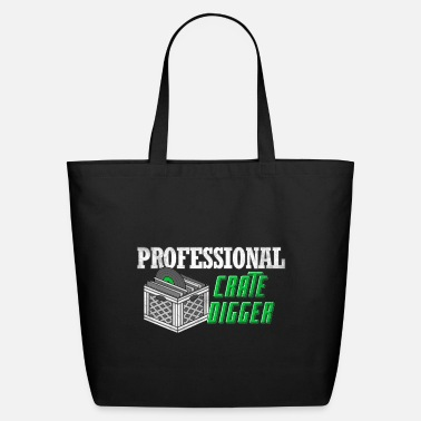 Professional Crate Digger - Eco-Friendly Tote Bag