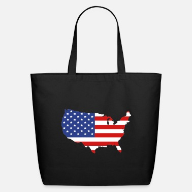 United States Of America United States of America - Eco-Friendly Tote Bag