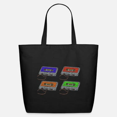 Cassette Cassettes music cassettes - Eco-Friendly Tote Bag