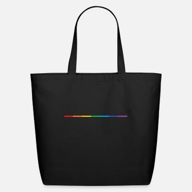 Rainbow Rainbow minimalist - Eco-Friendly Tote Bag