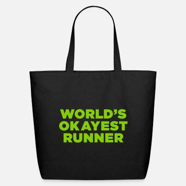World's Okayest Runner - Eco-Friendly Tote Bag