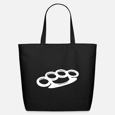 Knuckle Brass knuckles - Eco-Friendly Tote Bag