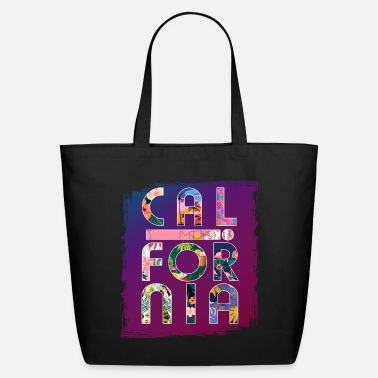 Los Angeles California Colorful Paradise - Eco-Friendly Tote Bag