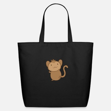 Chimpanzee Baby monkey - Eco-Friendly Tote Bag