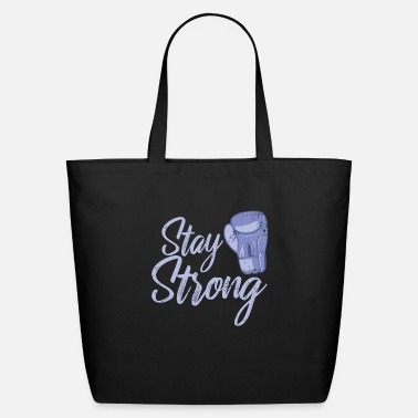 World Champion Boxing Stay Strong - Eco-Friendly Tote Bag
