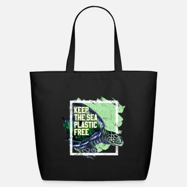 Day Environmental Protection Shirt Activist Turtle - Eco-Friendly Tote Bag