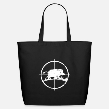 Wild Wild Boar Pig Hunter Hunting Shirt Gift Idea - Eco-Friendly Tote Bag