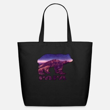 Montains Papa Bear Montain - Eco-Friendly Tote Bag