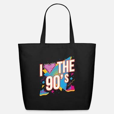 90/'s Fancy Dress Costume Outfit Neon Party Shoulder Handbag 90s Tote Bag