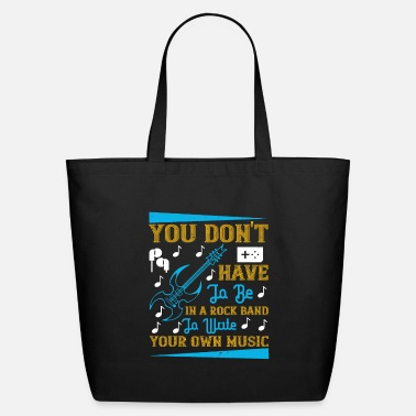 Instrument Music - Write Your Own Music - Eco-Friendly Tote Bag