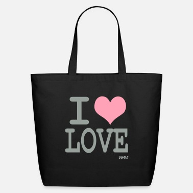 I Love i love love by wam - Eco-Friendly Tote Bag