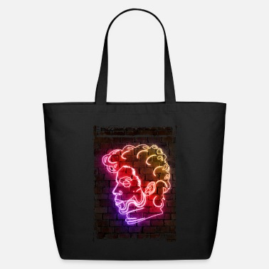 Neon Cherry Moon neon - Eco-Friendly Tote Bag