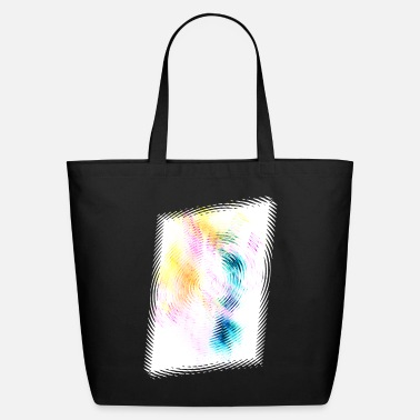 Abstract Inferno shifted X invert - Eco-Friendly Tote Bag