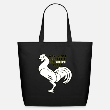 Big White Cock - Eco-Friendly Tote Bag
