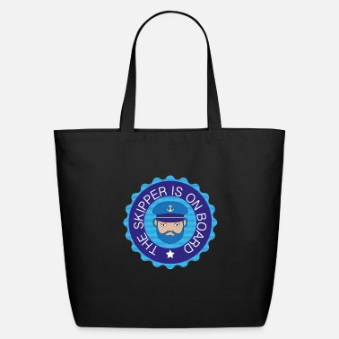 Skipper A great gift for Sailors and Skippers - Eco-Friendly Tote Bag
