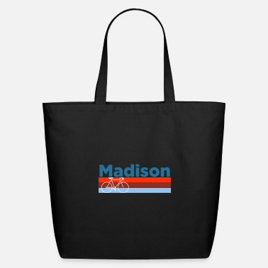 Madison Madison, Wisconsinbicycle Crewneck Madison - Eco-Friendly Tote Bag