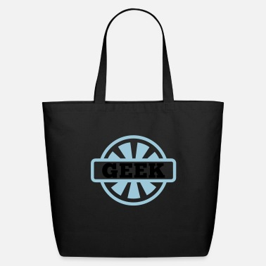 Geek Geek Emblem - Eco-Friendly Tote Bag