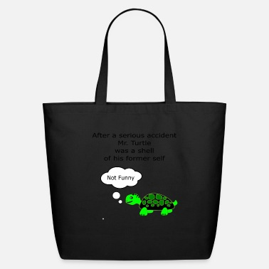 Pun Mr Turtle pun - Eco-Friendly Tote Bag