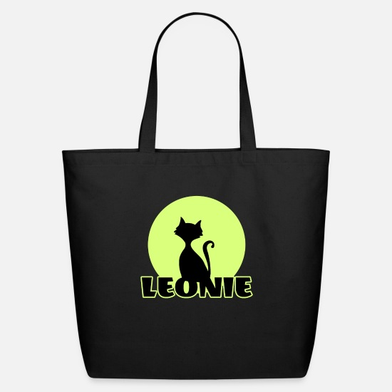Birthday Bags & Backpacks - Leonie first name - Eco-Friendly Tote Bag black