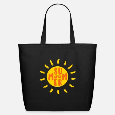Sunlight Summer - Sun - Sea - Beach - Eco-Friendly Tote Bag