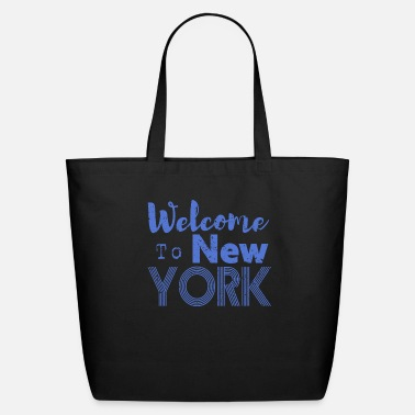 Ny Welcome to New York Vintage - Eco-Friendly Tote Bag