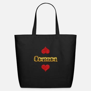 Corazon Loving Corazon - Eco-Friendly Tote Bag