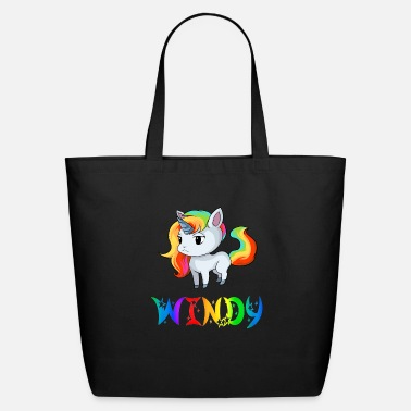 The Windy City Windy Unicorn - Eco-Friendly Tote Bag