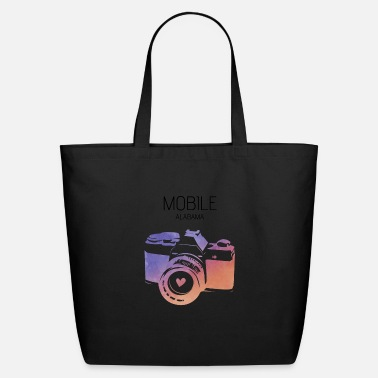 Mobile Camera Mobile - Eco-Friendly Tote Bag