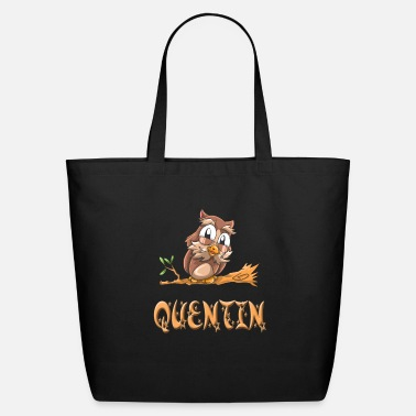 Quentin Quentin Owl - Eco-Friendly Tote Bag