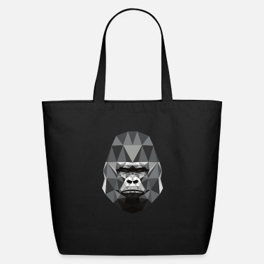 Gorilla Low poly Design - Eco-Friendly Tote Bag