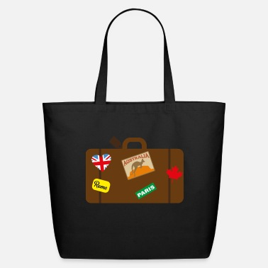 Suitcase suitcase - Eco-Friendly Tote Bag
