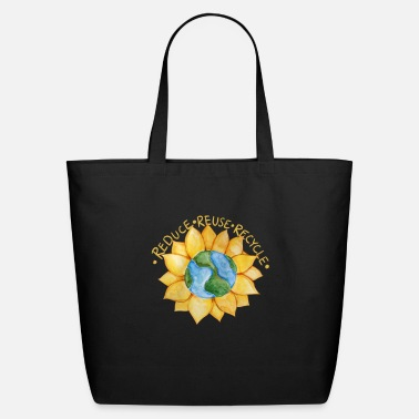 Reduce Reduce reuse recycle - Eco-Friendly Tote Bag