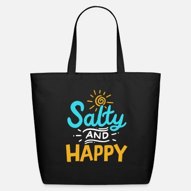 Summer Vacation Salty Beach Cruise Holidays - Eco-Friendly Tote Bag