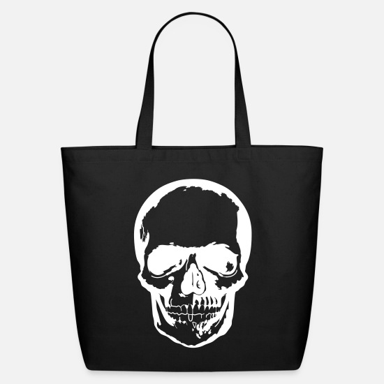 Skull Bags & Backpacks - Skull dark - Eco-Friendly Tote Bag black