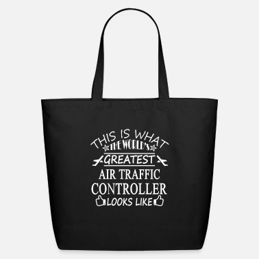 Traffic Air Traffic Controller Tee Shirts - Eco-Friendly Tote Bag
