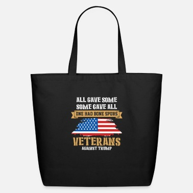 Against Veterans Against Trump Gifts - Eco-Friendly Tote Bag