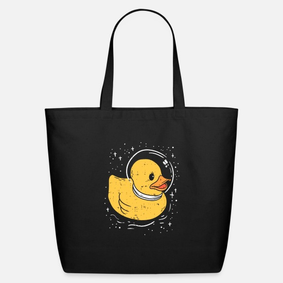 Milky Way Bags & backpacks - SPACE: Rubber Ducky In Space Gift - Eco-Friendly Tote Bag black