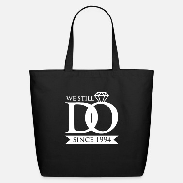 25th Wedding Anniversary 25th Wedding Anniversary Gift for Married In 1994 - Eco-Friendly Tote Bag