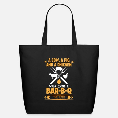 Meat Barbecue BBQ Joke For Grill Master Chef - Eco-Friendly Tote Bag