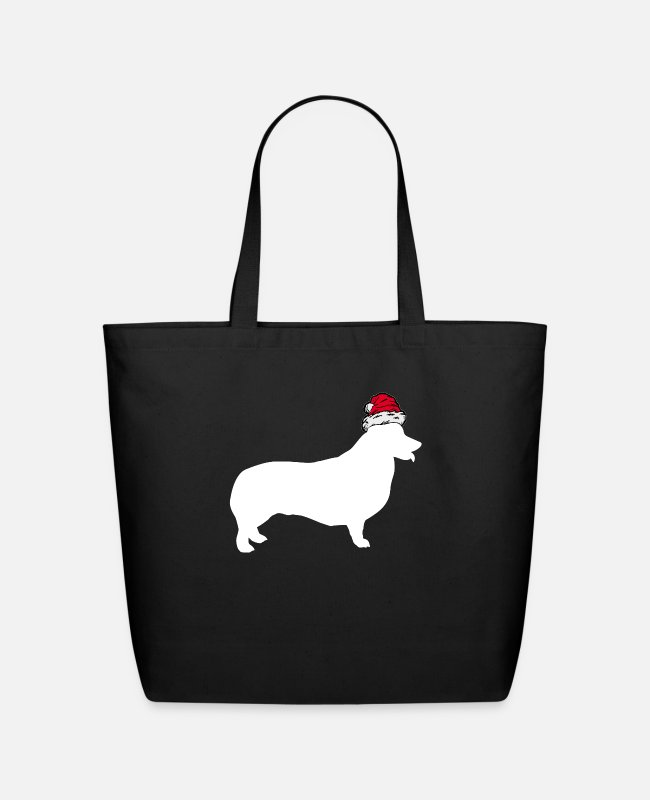 Dachshund Bags & Backpacks - Dachshund Wiener - Eco-Friendly Tote Bag black