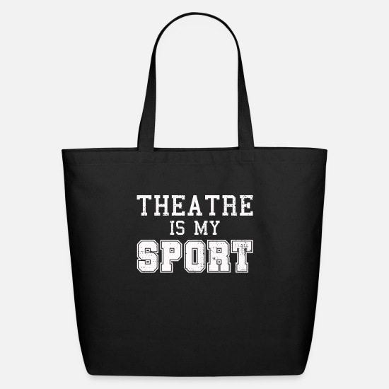 Broadway Bags & Backpacks - Theater - Eco-Friendly Tote Bag black