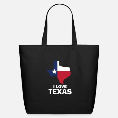 Texas I love Texas - Eco-Friendly Tote Bag