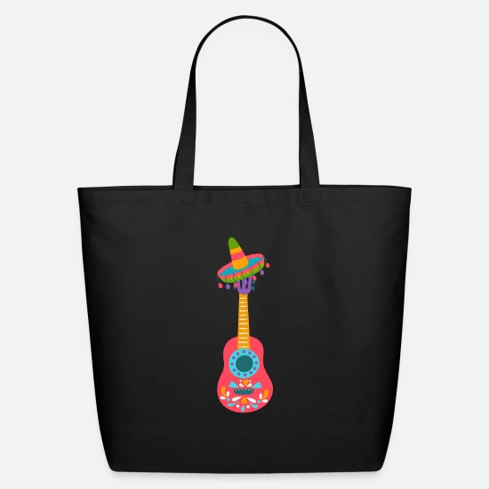 Pepper Bags & Backpacks - cinco de mayo - 5 de mayo - Eco-Friendly Tote Bag black