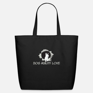 Sports Dog Agility Love | Dogs Sport Animal - Eco-Friendly Tote Bag