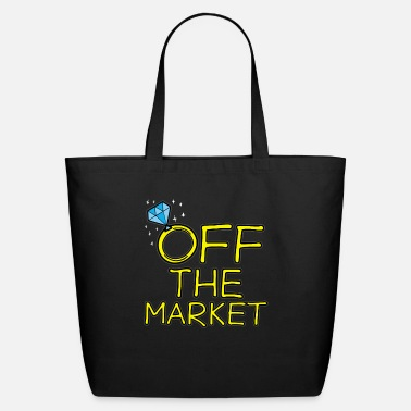 Party OFF THE MARKET Wedding Bachelor Party Bride Gift - Eco-Friendly Tote Bag