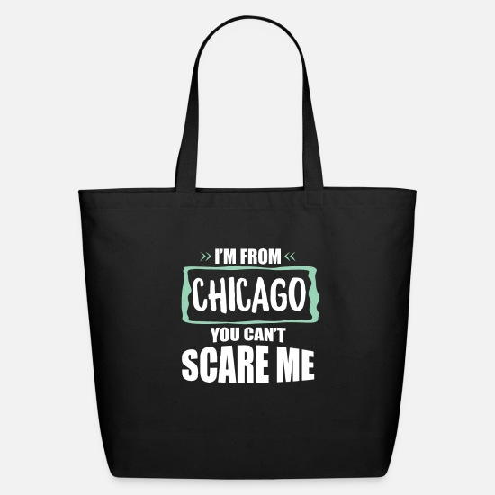 Chicago Bags & Backpacks - Chicago Illinois - Eco-Friendly Tote Bag black