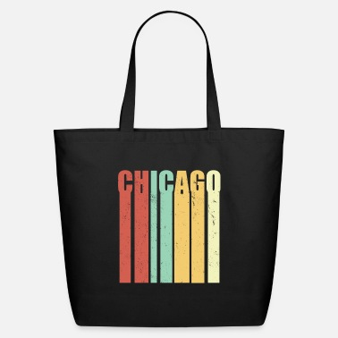 Chicago Chicago Illinois VIntage - Eco-Friendly Tote Bag