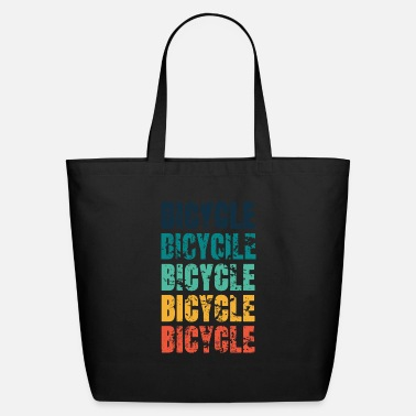Bicycling BICYCLE BICYCLE BICYCLE BICYCLE BICYCLE - Eco-Friendly Tote Bag