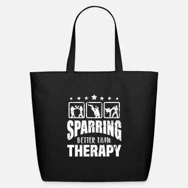 Taekwondo Sparring Therapy Karate Boxing MMA Jiu Jitsu - Eco-Friendly Tote Bag