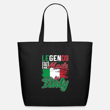 Italian Legends Are Made In Italy Gift - Eco-Friendly Tote Bag
